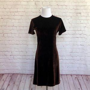 J. Crew Velvet Dress